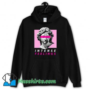 Classic Vaporwave Intense Feelings Hoodie Streetwear