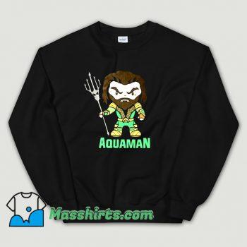 Cool Aquaman Cartoon Movie Sweatshirt