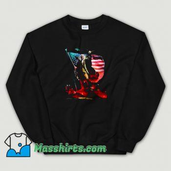 Cool Badass George Washington Sweatshirt