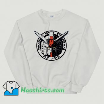 Cool Gundam Emblem Sweatshirt