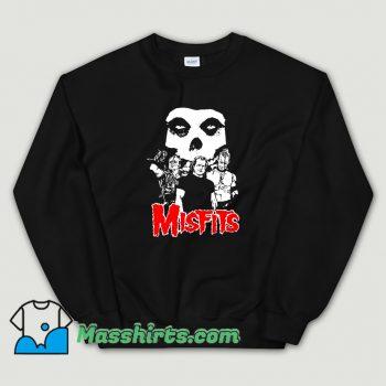 Cool Misfits 1980 Tour Music Rock Sweatshirt