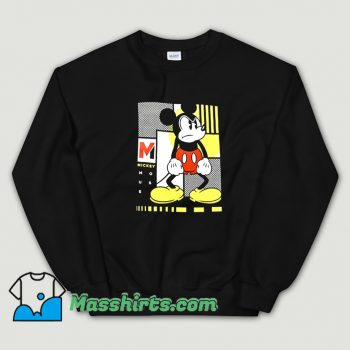 Cool Movie Mickey Mouse Mad Angry Face Sweatshirt