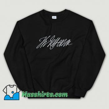 Cool Thomas Jefferson Signature Sweatshirt