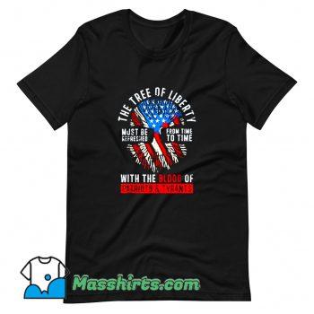 Cool Tree Of Liberty Thomas Jefferson T Shirt Design