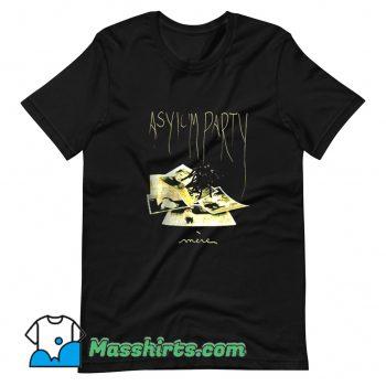 Darkwave Asylum Party Mere Post Punk T Shirt Design