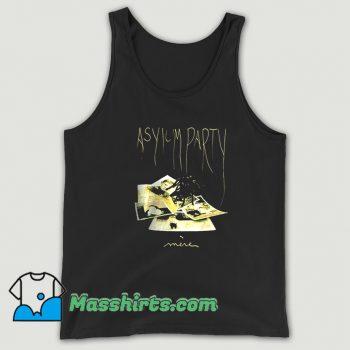 Darkwave Asylum Party Mere Post Punk Tank Top