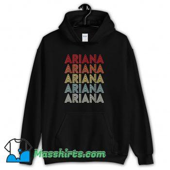 Funny Ariana Grande Retro 90s Hoodie Streetwear