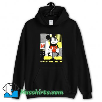 Funny Movie Mickey Mouse Mad Angry Face Hoodie Streetwear