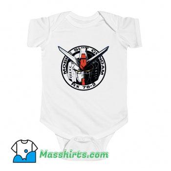 Gundam Emblem Baby Onesie