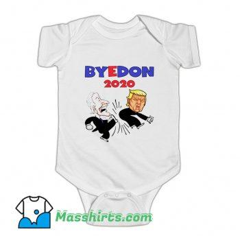 Joe Biden Kick Donald Trump 2020 Baby Onesie