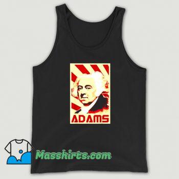 John Adams Retro Propaganda Tank Top