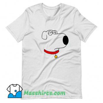 Line Draw Bored Brian Face T Shirt Design