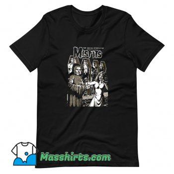 Misfits 80s Tour Poster Funny T Shirt Design