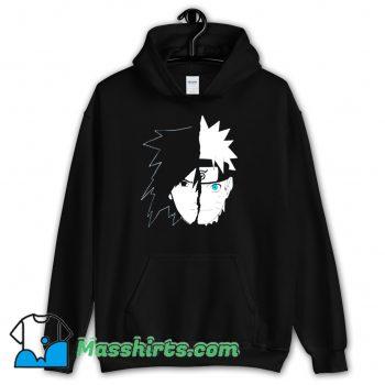 Naruto Sasuke Split Face Hoodie Streetwear