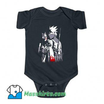 Naruto Shippuden Kakashi Story Baby Onesie