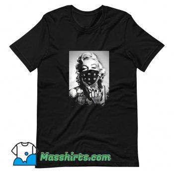 New Actress Marilyn Monroe Bandana T Shirt Design