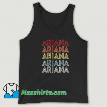 New Ariana Grande Retro 90s Tank Top