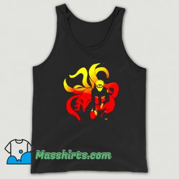 New Comic Naruto and 9 Tails Tank Top