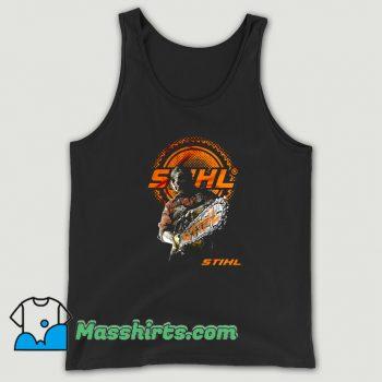 New Halloween STIHL Texas Chainsaw Tank Top