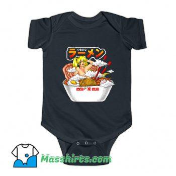 Oiroke Ramen Cute Baby Onesie