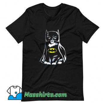 Original Bat Cat Batman Parody T Shirt Design