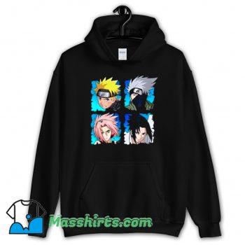 Original Naruto Shippuden 4 Heads Hoodie Streetwear