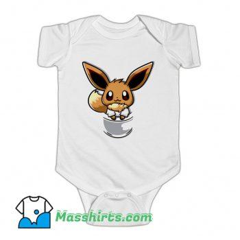 Pouch Eevee So Cute Baby Onesie