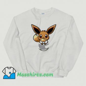 Pouch Eevee So Cute Sweatshirt