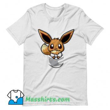 Pouch Eevee So Cute T Shirt Design