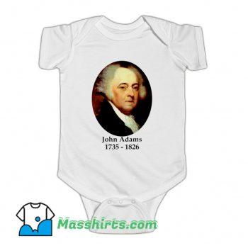 President John Adams 1735 1826 Baby Onesie