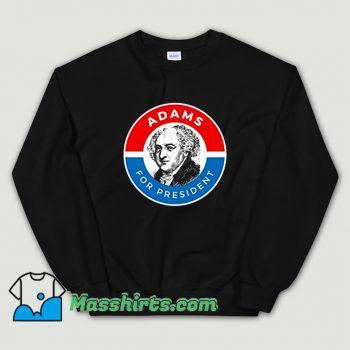 President John Adams Logo Sweatshirt