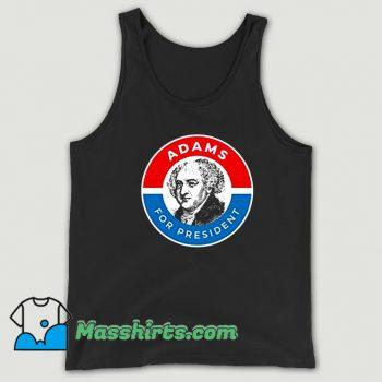 President John Adams Logo Tank Top