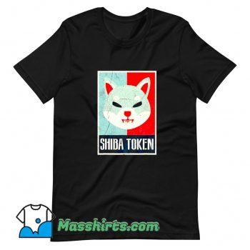 Shiba Inu Token Coin Doge Funny T Shirt Design