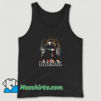 The King Of Halloween Funny Tank Top
