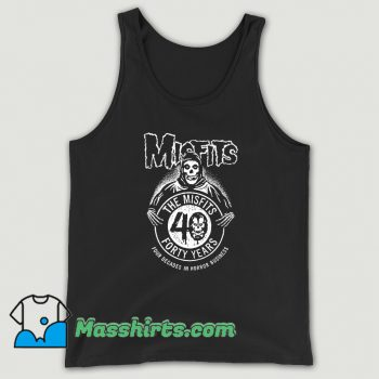 The Misfits Forty Years Anniversary Tank Top