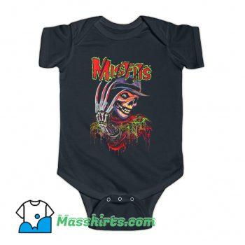 The Misfits Tour Music Rock Retro 90s Baby Onesie