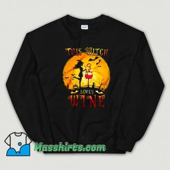 This Witch Loves Wine Sweatshirt