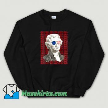 Thomas Jefferson America Patriotic Sweatshirt