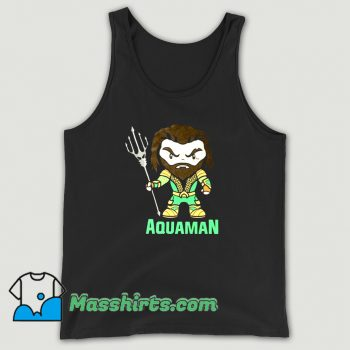 Vintage Aquaman Cartoon Movie Tank Top