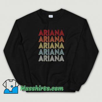 Vintage Ariana Grande Retro 90s Sweatshirt