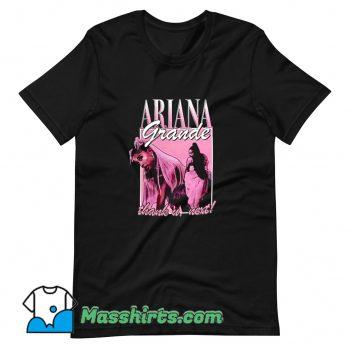 Vintage Ariana Grande Thank U Next T Shirt Design
