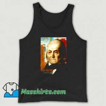 Vintage John Quincy Adams American President Tank Top