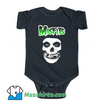 Vintage Misfits Band Logo Rock Music Baby Onesie