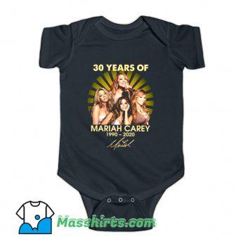 30 Years Of Mariah Carey 1990 2020 Baby Onesie