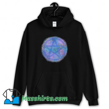 90S Witch Wicca Symbol Hoodie Streetwear