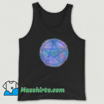 90S Witch Wicca Symbol Tank Top