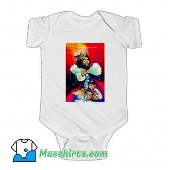 American Rapper J Cole Kod Baby Onesie