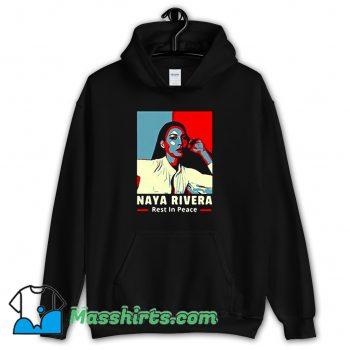 Awesome Naya Rivera Rest In Peace Hoodie Streetwear