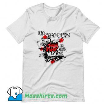 Awesome Rap Gangsta Hip Hop Music T Shirt Design