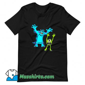 Awesome Sulley And Mike Monsters University T Shirt Design